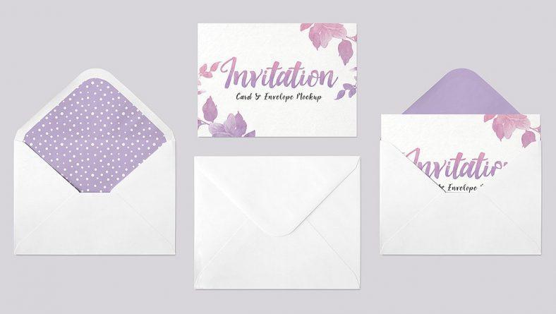 Mẫu thiết kế thiệp mời sự kiện cực đẹp