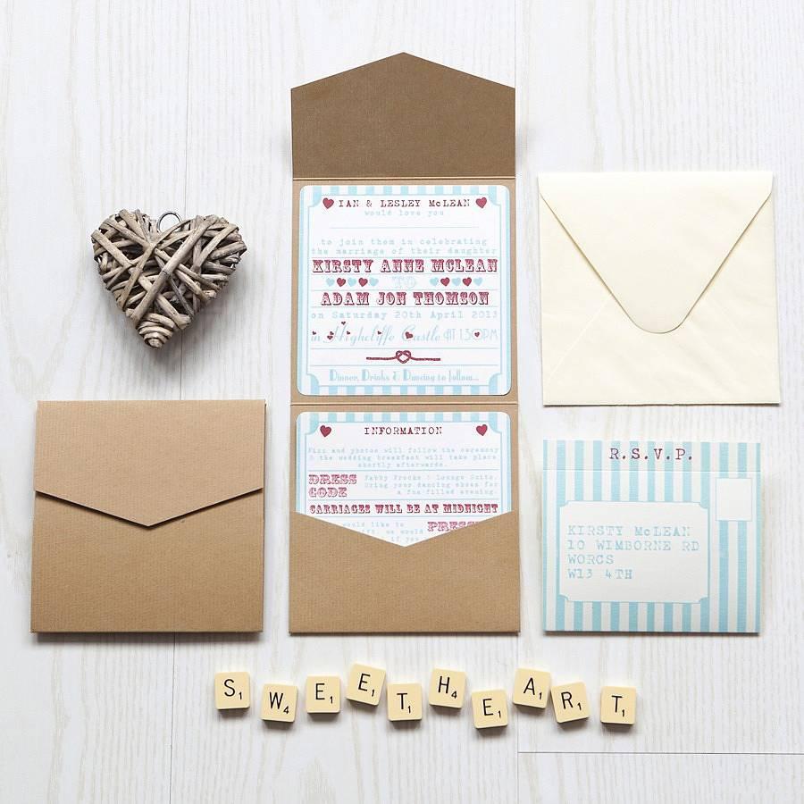 Bộ thiệp mời tình yêu cực kỳ dễ thương