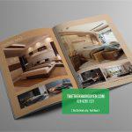 Mẫu thiết kế catalogue sản phẩm nội thất