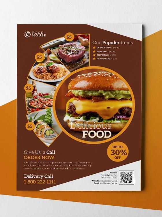 Tại sao nên thiết kế mẫu in voucher đẹp cho tiệm thức ăn nhanh