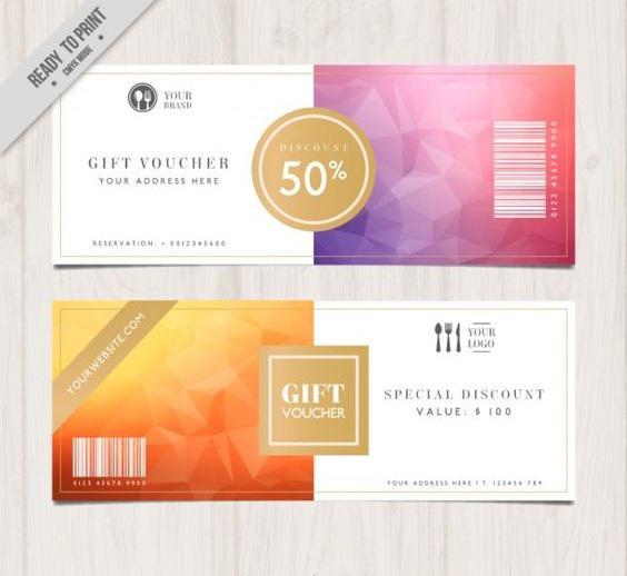 Thiết kế mẫu in thẻ quà tặng đẹp dựa theo chi phí có thể đầu tư