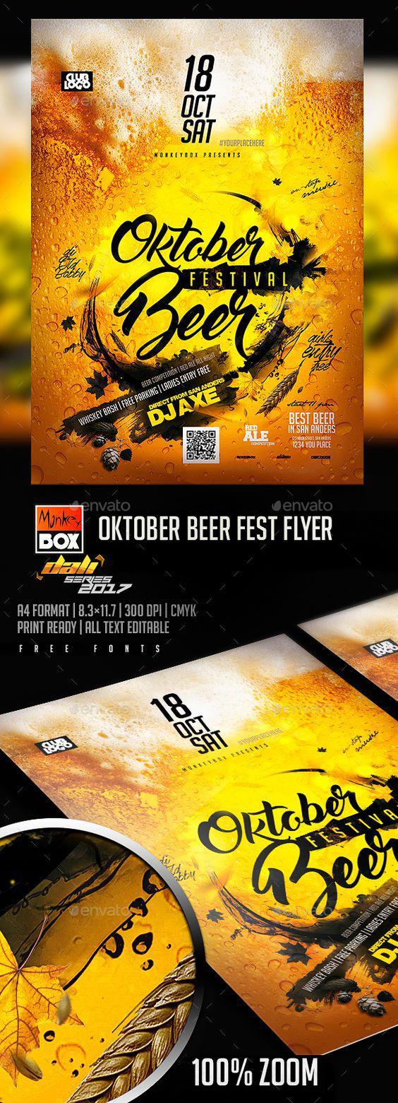 Mẫu in tờ rơi đẹp cho Beer Party ấn tượng nhất tại TPHCM