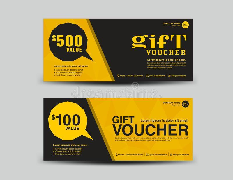 Màu sắc rất quan trọng trong một thiết kế voucher rẻ đẹp, thiết kế đẹp màu vàng