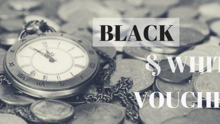 Những mẫu in voucher tông màu trắng đen ấn tượng nhất