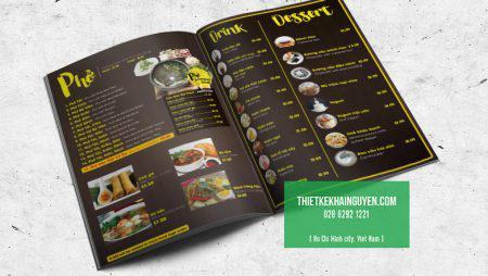 Gói thiết kế in ấn cho Nhà hàng Phở – quán phở HCM