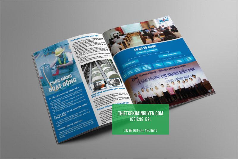 Mẫu thiết kế profile - catalogue công ty