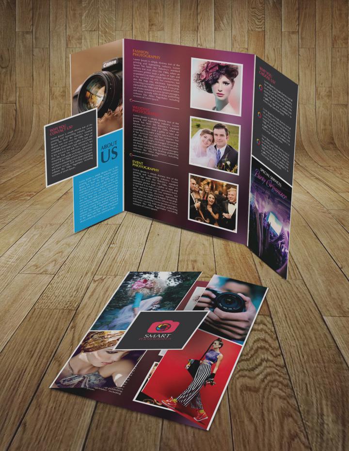 Phương pháp die cut brochure đơn giản