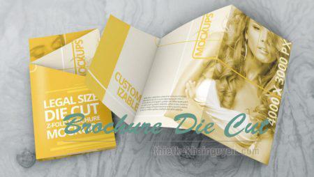 10 mẫu brochure đặc biệt – Brochure Die Cut