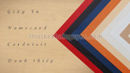 Tư vấn cách chọn giấy in name card, card visit, danh thiếp