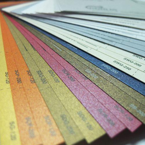 Lựa chọn giấy để in card visit mỹ thuật