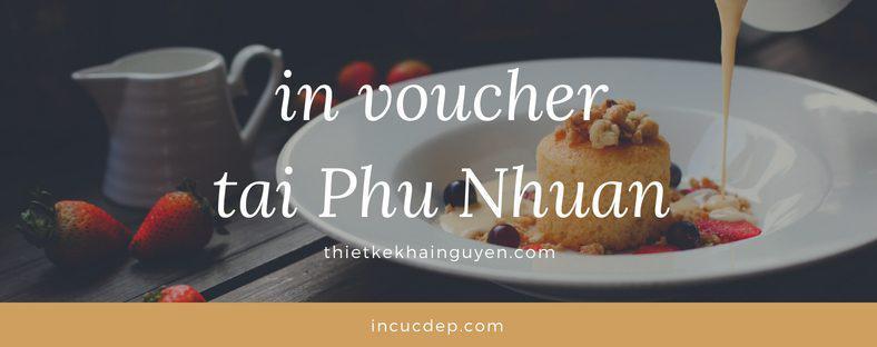 in voucher đẹp tại Phú Nhuận