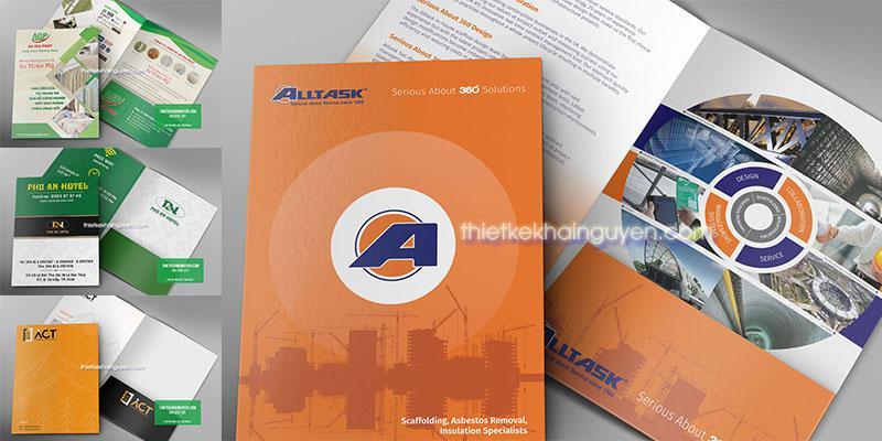 Mẫu thiết kế folder - kẹp tài liệu