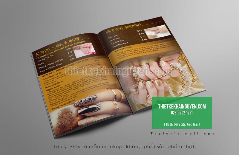 Kiểu thiết kế menu nails đẹp tại Idaho, Hoa Kỳ