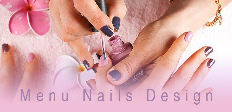 Menu nails design - thiết kế menu nails