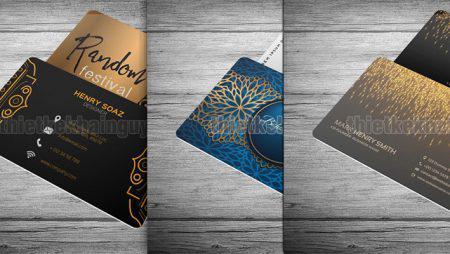 Giới thiệu 10 mẫu thiết kế card nhựa cao cấp