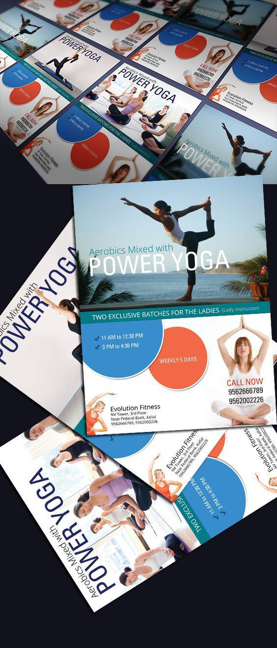In voucher đẹp cho phòng tập Yoga tại TPHCM
