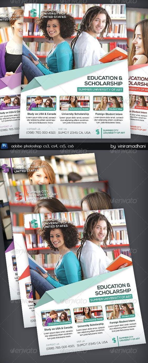 In tờ rơi cho dịch vụ du học - Yếu tố không thể thiếu trong một kế hoạch marketing tuyệt vời
