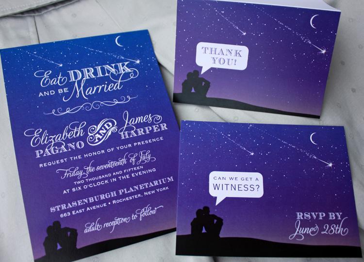 Bộ thiệp mời sắc tím xanh cực kỳ lãng mạn và huyền bíBộ thiệp mời sắc tím xanh cực kỳ lãng mạn và huyền bí