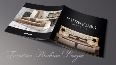 10+ Mẫu brochure nội thất đẹp theo trường phái tối giản