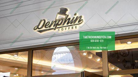 Mẫu logo quán cafe đẹp nhất với phối cảnh 3D