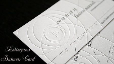 In name card chìm full nền – mẫu in card cao cấp mới lạ