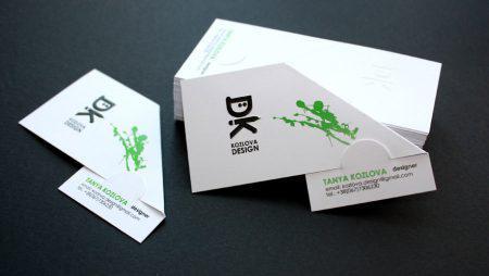 Tập hợp các kiểu in card đôi siêu HOT hiện nay