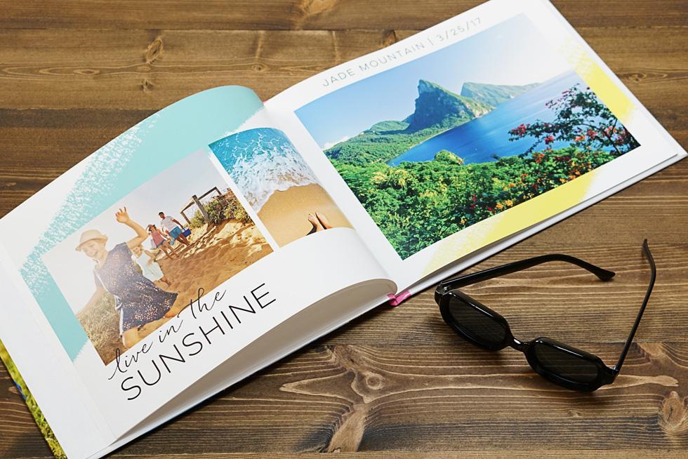 Mẫu photobook tạp chí mỏng, nhẹ và sang trọng