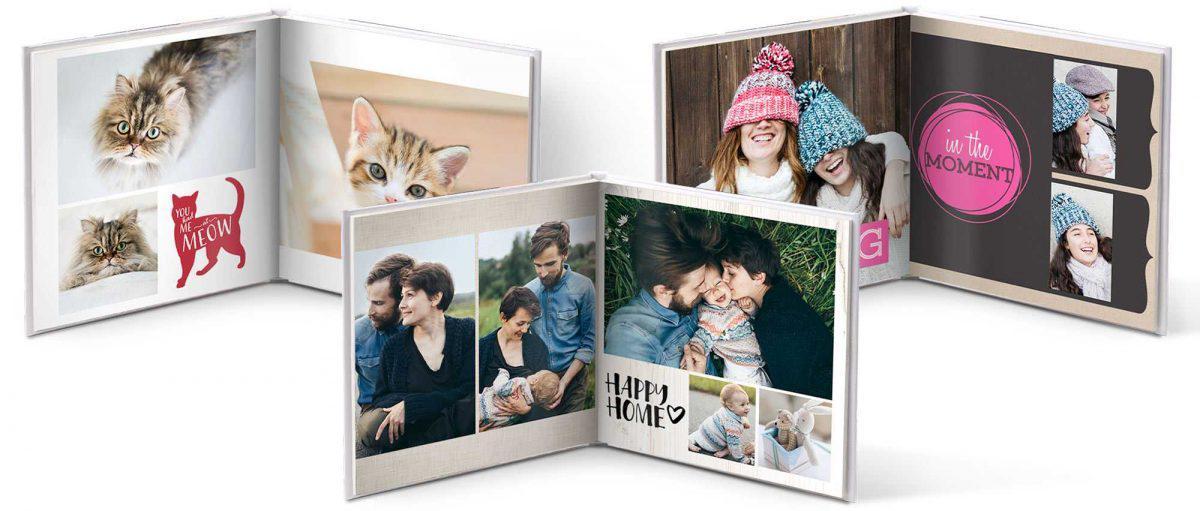 Mẫu photobook mở phẳng - nơi lưu giữ kỷ niệm theo cùng năm tháng
