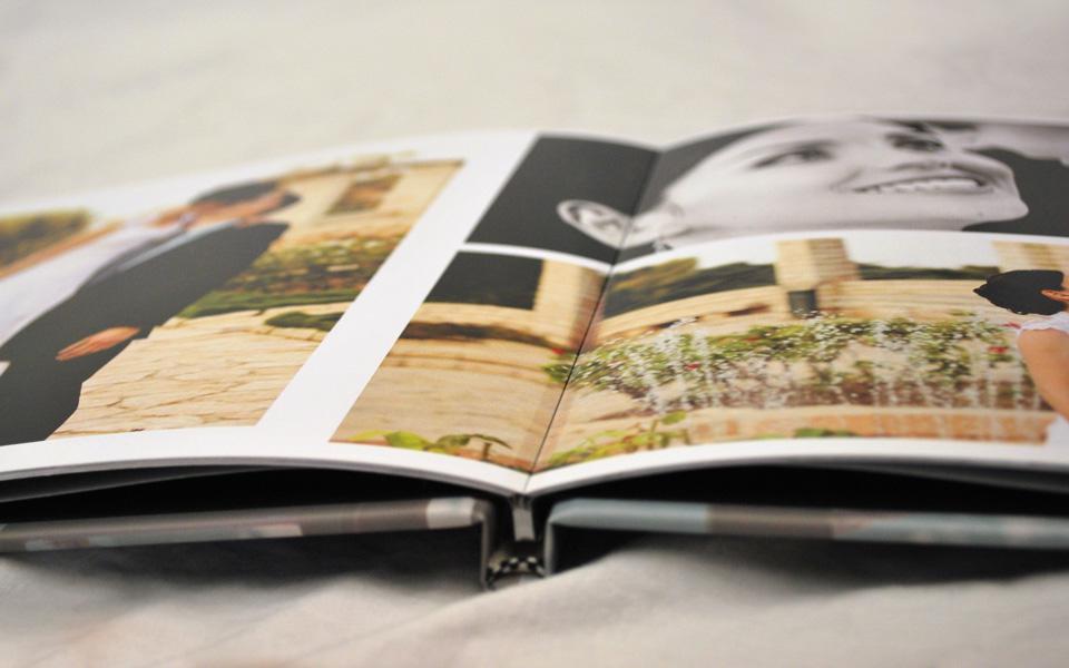 Cuốn photobook mở 3 lớp mở phẳng cho hình cưới tuyệt đẹp