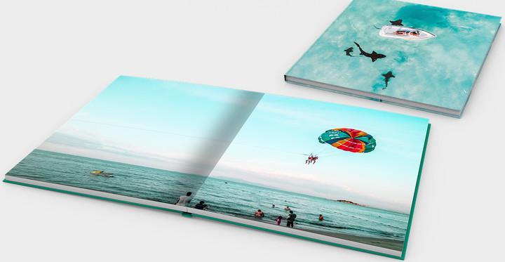 Photobook mở phẳng - mang cả thiên nhiên vào trong bức ảnh