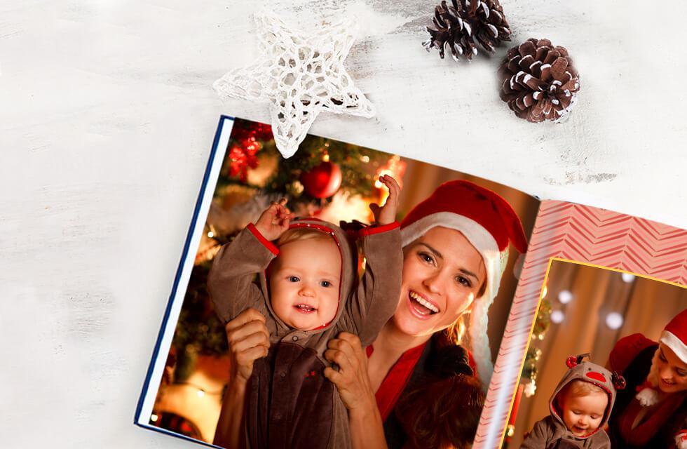Lưu giữ những kỷ niệm hạnh phúc của bé ngày giáng sinh với cuốn photobook hoàn hảo