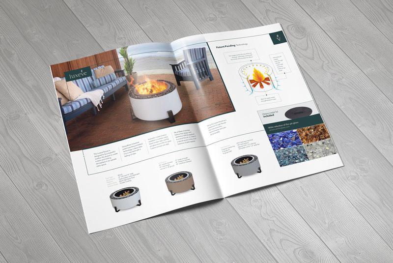 Thiết kế brochure nội thất đẹp