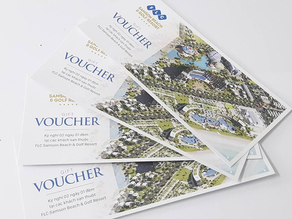Thiết kế voucher đẹp tại Tp. HCM