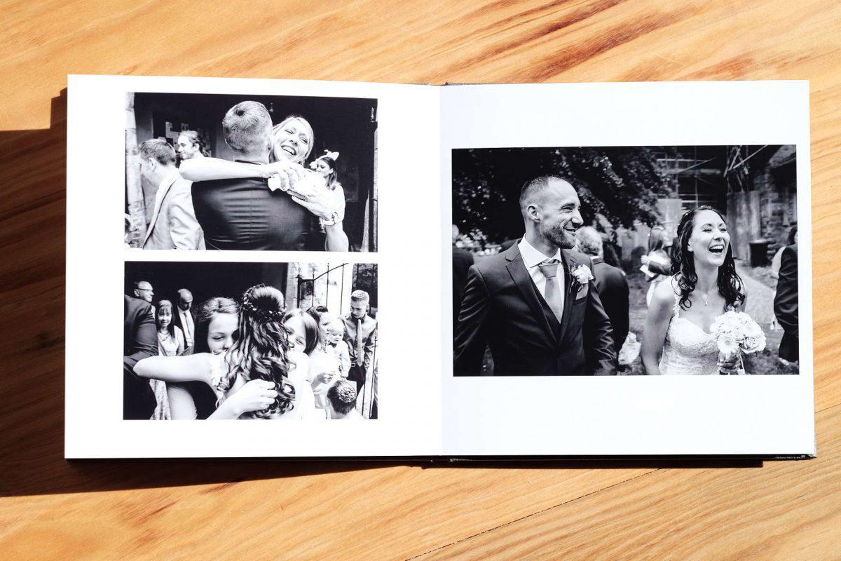 Quy tắc một phần ba được áp dụng cho một bố cục thiết kế photobook đẹp hút hồn