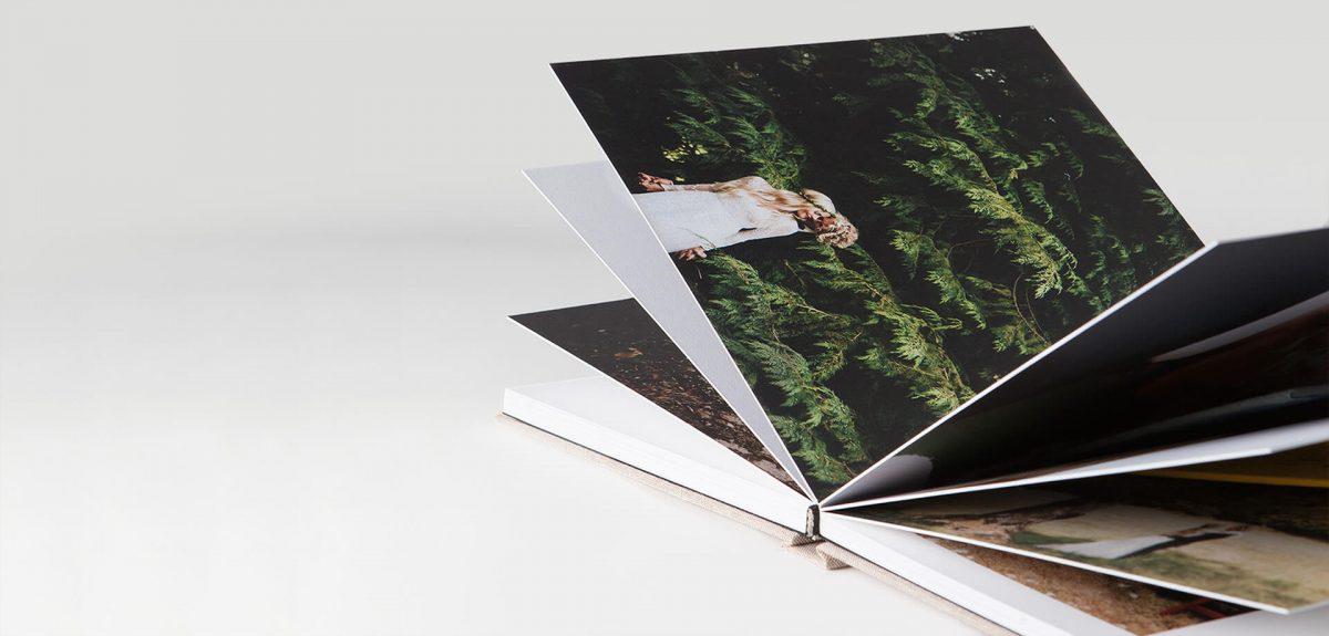 Mẫu photobook mở phẳng cực đẹp