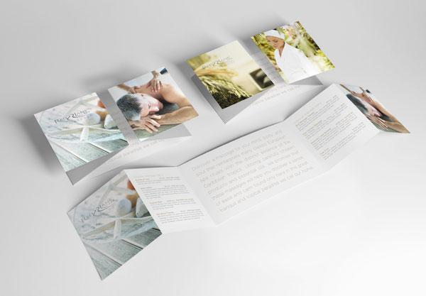 Kiểu gấp brochure đặc biệt