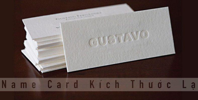 In name card kích thước lạ