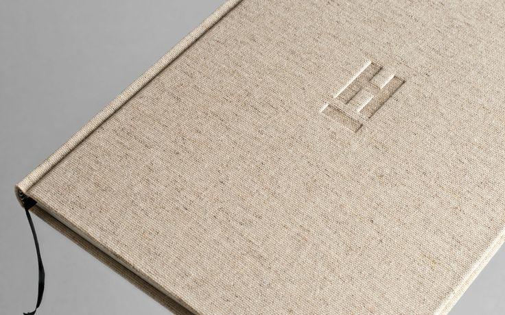 Mẫu bìa photobook vải linen cực đẹp