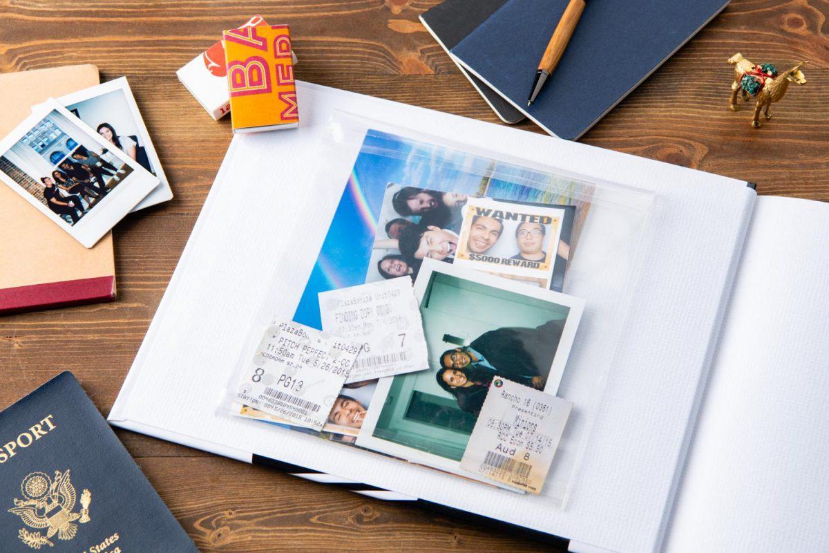 Tạo thêm sự đặc biệt cho photobook với những món quà lưu niệm