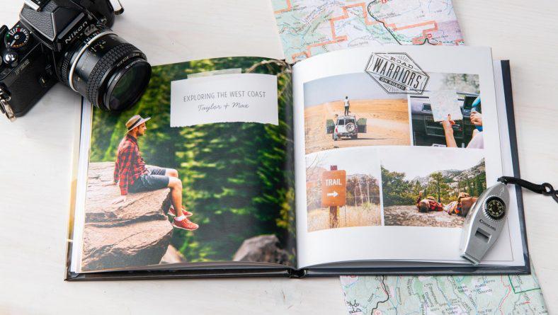 Lưu giữ những địa điểm yêu thích của bạn với cuốn photobook du lịch