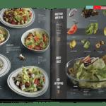 Mẫu thiết kế menu khai vị cho nhà hàng