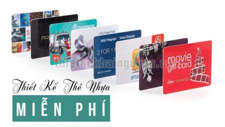 Thiết kế thẻ nhựa – card nhựa – Vip card miễn phí tại TPHCM