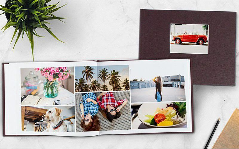 Mẫu photobook mở phẳng