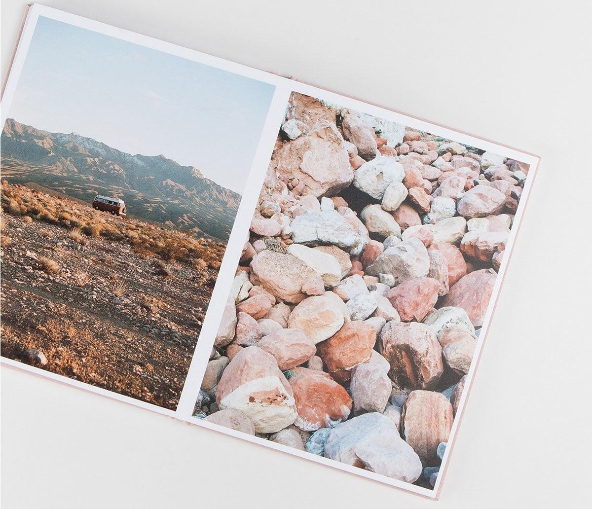 Sách ảnh đẹp hay không phụ thuộc rất nhiều vào các sắp xếp bố cục của bạn