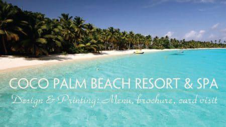 Bộ in ấn thiết kế resort Phú Quốc – Coco Palm Beach Resort and Spa