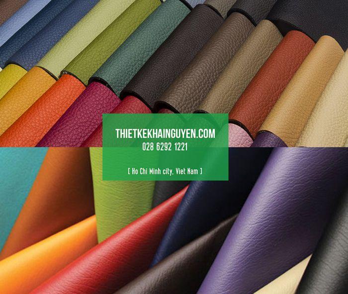 Màu sắc và kiểu dáng của một số loại da làm menu