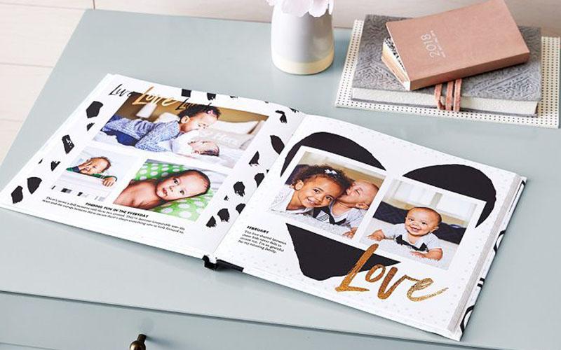 Photobook gia đình sẽ là cầu nối tuyệt vời gắn kết mọi người với nhau