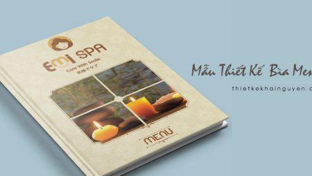 Mẫu thiết kế bìa menu – bìa thực đơn đẹp & ấn tượng