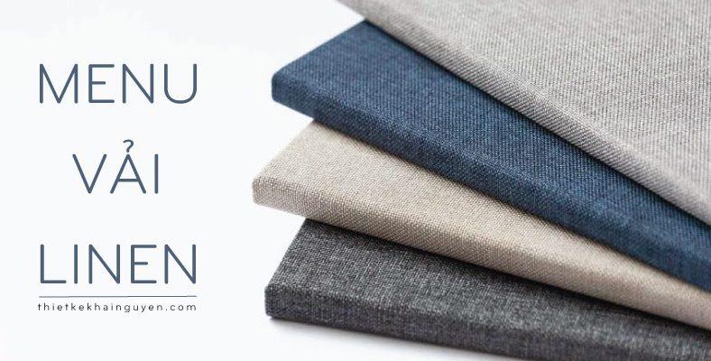 Thực đơn vải, vải linen, vải dệt, vải artdo