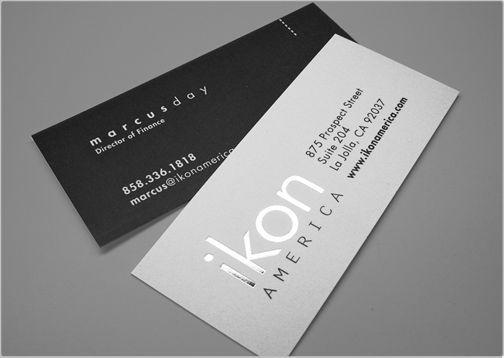 Kiểu in mini card ép kim đơn giản mà đặc sắc